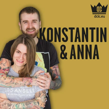 Konstantin und Anna recommend the high quality tattoo care Ink Booster and Ink Protector of the DC Invention Company.