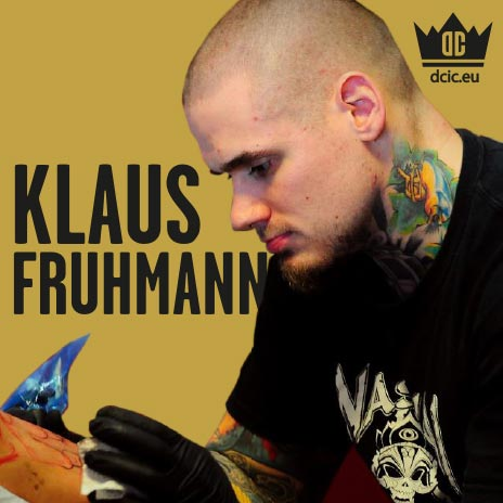 Klaus Fruhmann recommends the high quality tattoo care Ink Booster and Ink Protector of the DC Invention Company.