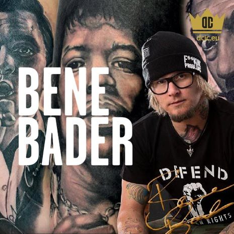 Bene Bader recommends the high quality tattoo care Ink Booster and Ink Protector of the DC Invention Company.